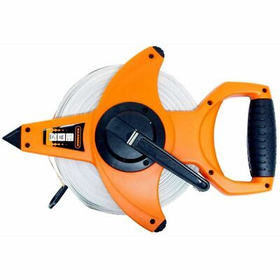 Skandia Long Tape Measure 50 m Measuring Tool Open Reel Work Building 1043705
