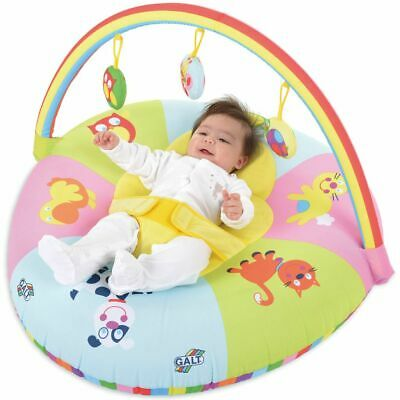 Galt Toys 3-in-1 Double-Sided Playnest and Gym Inflatable Baby Mat 381004819