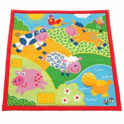Galt Toys Large Play Mat Baby Toddler Play Rug Carpet Blanket Farm 381004126