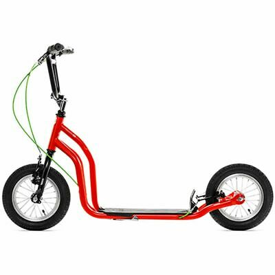 Yedoo Scooter Ox Red-Black y-ox-redblack Height-adjustable Suitable 7 Years+