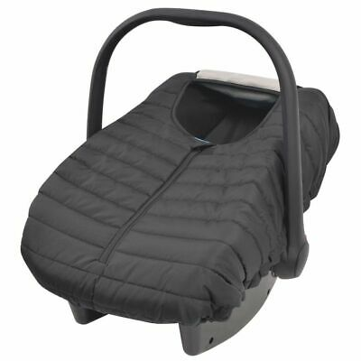 vidaXL Softly Padded Baby Infant Newborn Carrier/Car Seat Cover Protector Black
