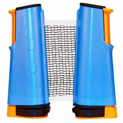Get & Go Roll Up Table Tennis Net Cobalt Blue/Orange/Black 61TT Extendable