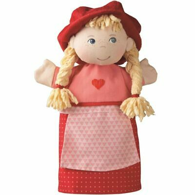 HABA Hand Finger Puppet Pretend Play Toy Little Red Riding Hood 27.5 cm 007284