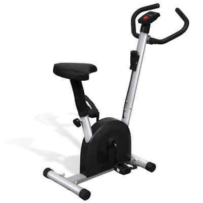 vidaXL Fitness Exercise Bike with Seat Cardio Workout Portable Fitness Bicycle