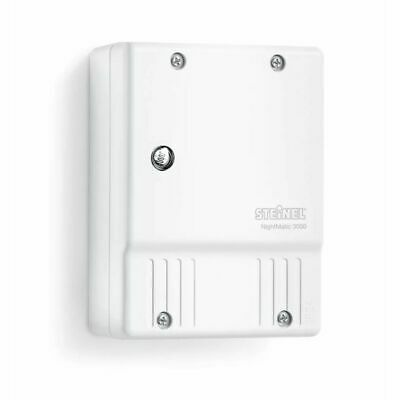 Photoelectric Lighting Controller NightMatic 3000 Twilight Switch White