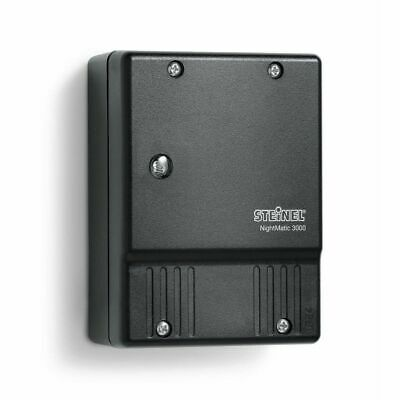 Photoelectric Lighting Controller NightMatic 3000 Twilight Switch Black