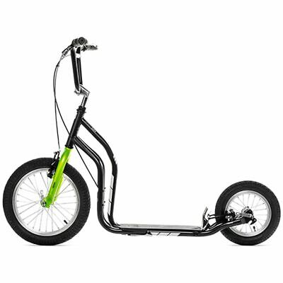 Yedoo Scooter City Black-Green y-city-green Children Kids Outdoor Riding Cycle