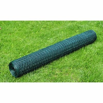 Hexagonal Wire Netting 50 cm x 25 m PVC-coated Thickness 1 mm