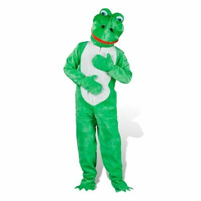 vidaXL Costume Frog M-L Adults Halloween Party Fancy Dress Clothing Outfit