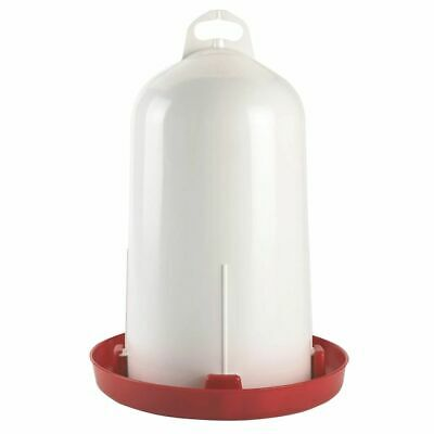 Kerbl Double Wall Drinker Chicken/Poultry/Chick/Hen Food Water Tool 12 L 70215
