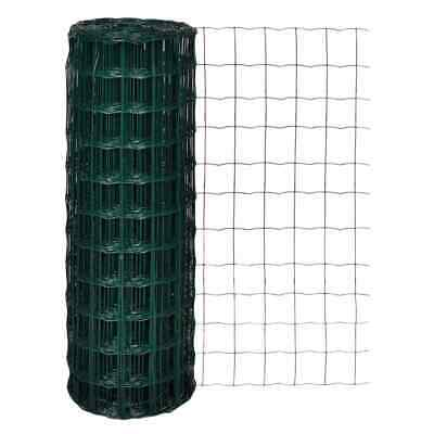 vidaXL Euro Fence Wire Mesh Fencing Barrier 10x1.7 m with 100x100 mm Mesh Steel