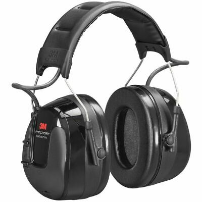 3M Ear Protection with Radio Hearing Defender Worktunes Pro Peltor Black 34732