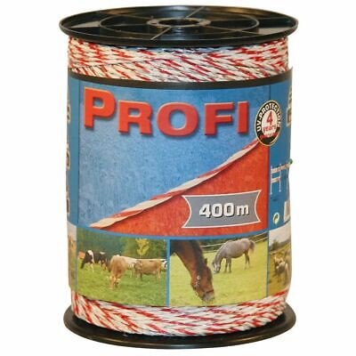 Kerbl Electric Fence Rope Profi PE 200 m Rotational Grazing Tape Panel 59508