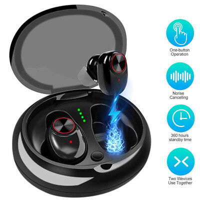 Mini Wireless Sport Earbuds Headset Bluetooth5.0 HIFI In Ear Stereo Headphones Z