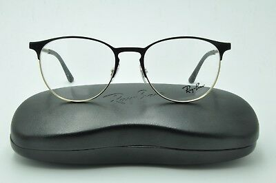 5dfde7ba68 RAY BAN RB 6375 Eyeglasses 2890 Black Gold Frames 51mm + Case ...