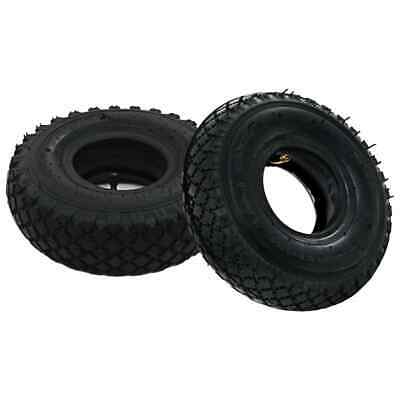 vidaXL 2 Tyres 2 Inner Tubes 3.00-4 260x85 for Sack Truck Wheel Rubber Cart