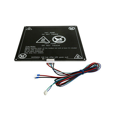 Aluminum MK3 12V Heated Bed Hotbed with Wire Cable Line for 3D Printer AU