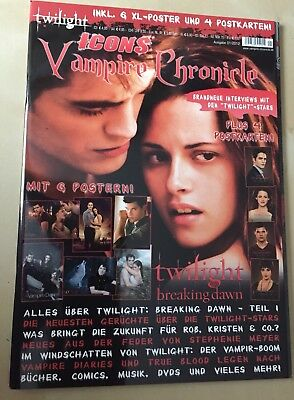 Twilight  @@  The Vampire Diaries @ Icons Vampire Chronicle 2012❤️ Poster ❤️ Lot