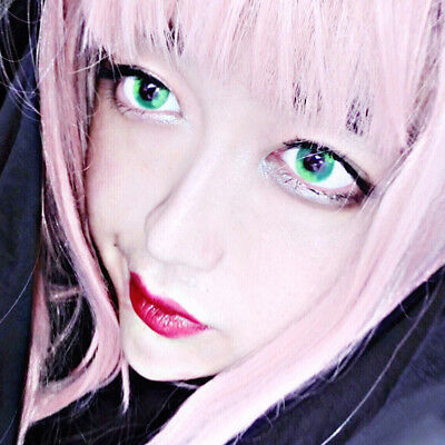 Colorful Soft Big Eyes Contact Lenses Club Party Cosplay Makeup Eyewear Mejor