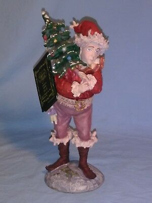 "DUNCAN ROYALE Pixie Elf, 1986 ""History of Santa"" II, 10 3/8"" Tall, 1160/10,000"