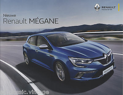 RENAULT - Megane GT prospekt/brochure/folder Dutch 2015