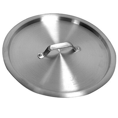 "1 NSF Aluminum LID 13-3/8"" for Commercial Stock Pot 24 QT, LID ONLY ALSKSP105"