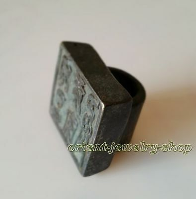 Collectables! Famous handwork Signed Dynasty Old Chinese Stamp Rare Bronze Seal