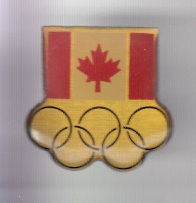 Rare Pins Pin's .. Olympique Olympic Games Drapeau Flag Canada Equipe Team ~18