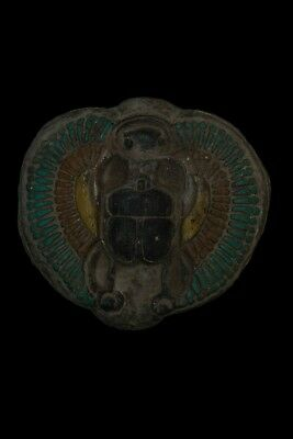 ANCIENT EGYPT EGYPTIAN Antiques SCARAB WINGS Beetle HIEROGLYPH STELA Stone BC