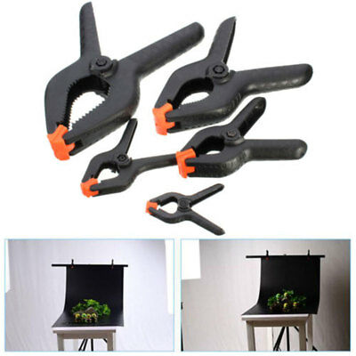 6 inch Heavy Duty Plastic Spring Clamps Tips DIY Small Tool Clip Jaw Opening