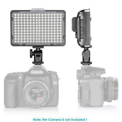 Neewer 176 LED Luz Video 5600K con Batería y Cargador USB para Canon Nikon Sony