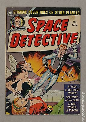 Space Detective #4 1952 VG 4.0