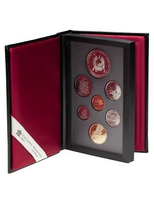 CANADA 1988 Canada Saint-Maurice Ironworks Proof Double Dollar Set