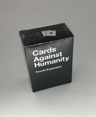 Brand New Sealed Cards Against Humanity:4th Fourth Expansion Pack Premium Gift