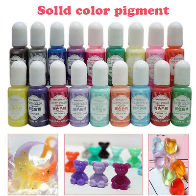 New Pigment Epoxy UV Resin DIY Handmade Art Crafts Coloring Dye Colorant