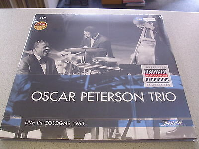Oscar Peterson Trio - Live In Cologne 1963 - 2LP Vinyl // Neu &OVP // Download