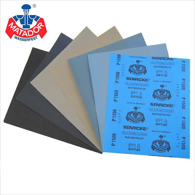 Wet And Dry Sandpaper Sanding Abrasive Paper 120 To 3000 5000 7000 10000 Grit