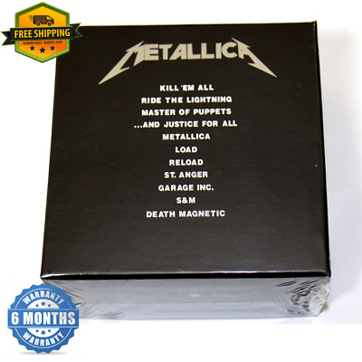The Metallica Album Collection 13 Album CD Box Set SEALED Deluxe Edition Japan