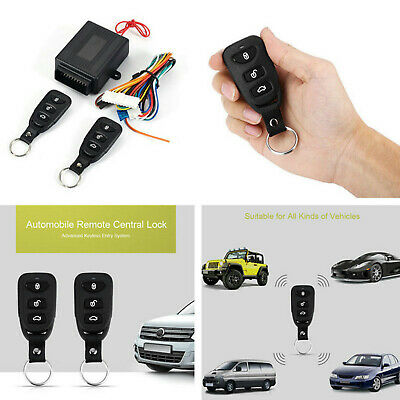 Universal Car Remote Control Central Door Lock Locking Keyless Entry System Part