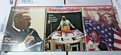 American Visions Afro-American Culture Magazine 1986 1St Premiere Issue Mlk King