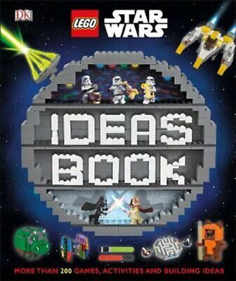 LEGO Star Wars Ideas Book More than 200 Games, Activities, and ... 9780241314258