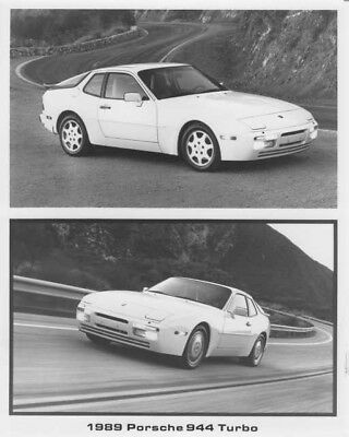 1989 Porsche 944 Turbo Factory Press Photo With Features
