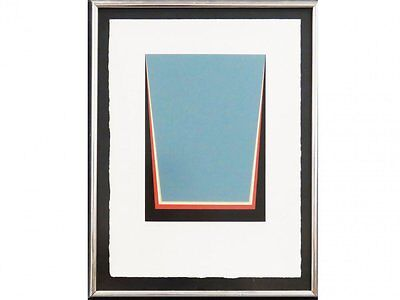 Cecil King (Irish 1921-1986) Berlin Suite V Screenprint Minimalist Abstract 1970