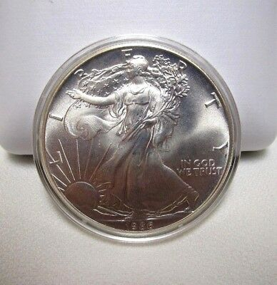 1986 Silver American Eagle One Ounce Coin ***first Year Of Issue***