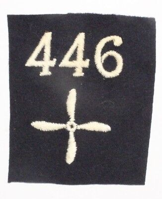 Army Patch: 446th Aero Squadron - WWI Army Air Service