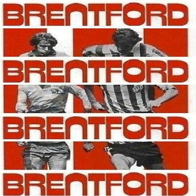 Programme Brentford Football Club Griffin Park Home Game Programmes - Various
