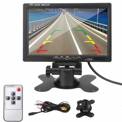 """7"""" Inch TFT-LCD Car Color Rear Screen Monitor For Car Rearview Backup Camera"""