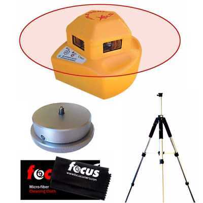 Pacific Laser Systems PLS 360 Red Tool with Tripod, Adapter & Cleaning Cloth