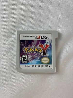 Pokemon Y For Nintendo 3DS Cartridge Only Tested