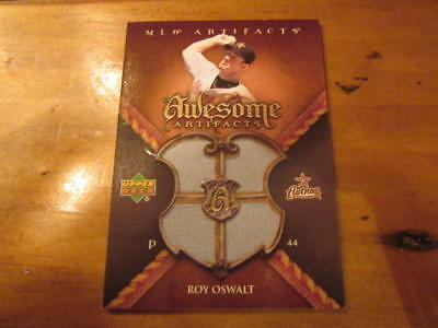 Roy Oswalt Houston Astros 2007 UD Artifacts Jersey Card Mint #26/50
